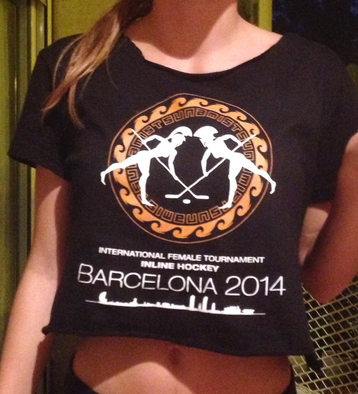 c352a5548 CUP T-shirt -for women- – Barcelona Inline Cup